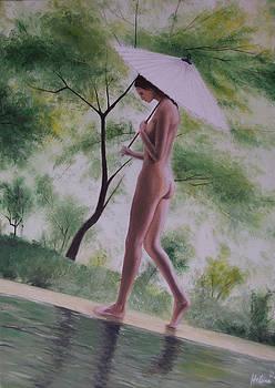 Walk in the forest by Helene Schmittgen