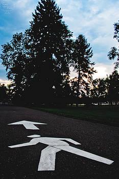 Walk This Way by Tejas Prints