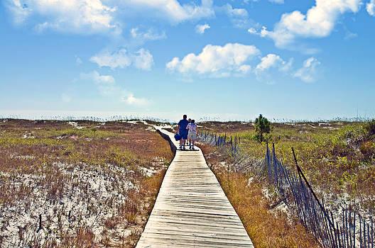 Walk to the Beach by Susan Leggett