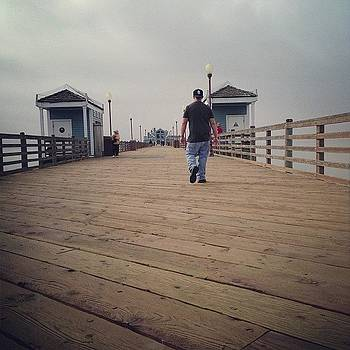 Walking By. #pier #rita520 #ocean by Rita Spiegel