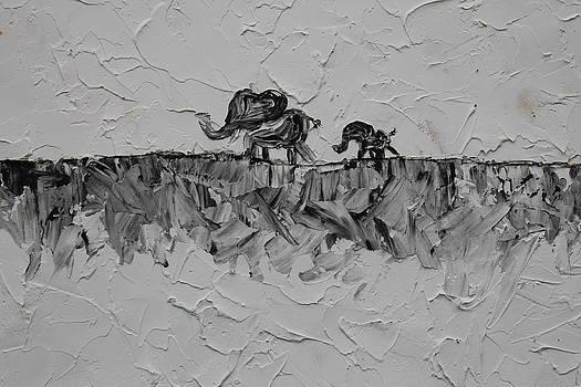 Walking Elephants by Courtney Hancock