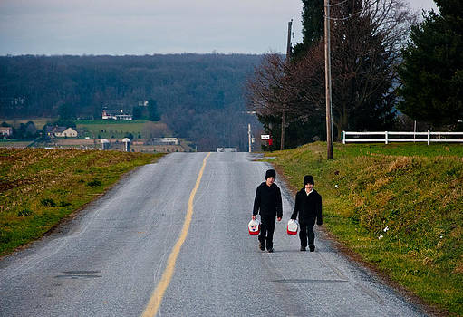 Walking Home by Heidi Reyher