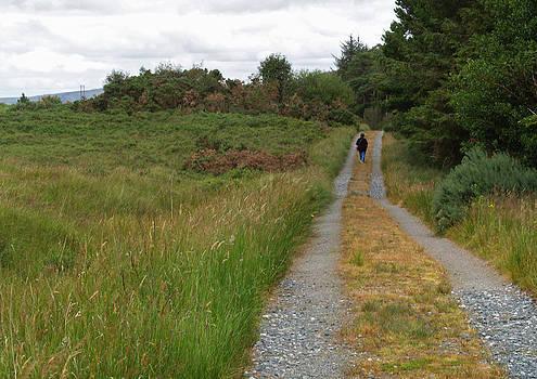 Walking in Glen Veagh by Steve Watson