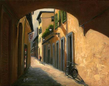 Walkways of Florence by Catherine Marchand