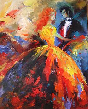 Waltz by Nelya Shenklyarska