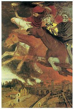 Arnold Bocklin - War