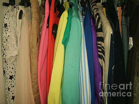 Wardrobe of colour by Gemma  McLean
