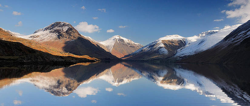 Wasdale Winter reflections by Stewart Smith