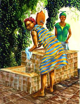 Wash Day by Charles Sims
