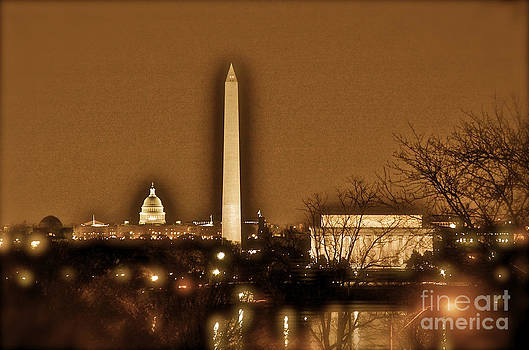 Washington DC by Night by Mark East
