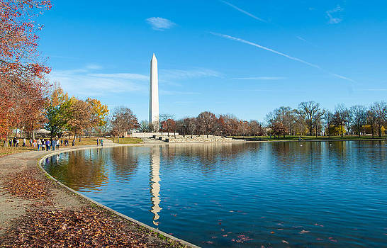 Washington Monument at Constitutional Garnes by Karl Barth Photography