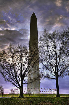 Washington Monument by Joe Paniccia