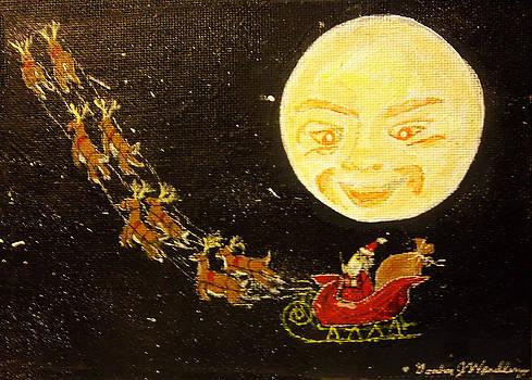 Watching Santa by Gordon Wendling