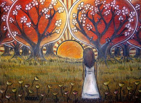 Watching the Sun by Valentina Kross