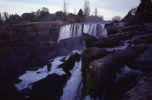 Water Falls in Chile by Thomas D McManus