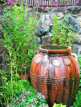 Water in Vase by Valerie Longo