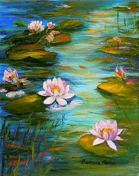 Water Lilies for Emma by Barbara Pirkle