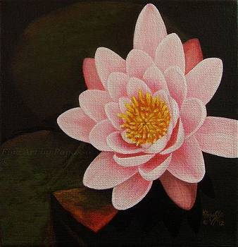 Water Lily by Kathie Papasso