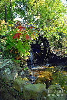 Water Mill by Curtis Brackett