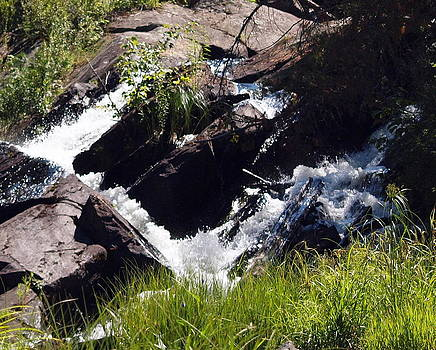 Water Over Rocks by Kristal Kobold