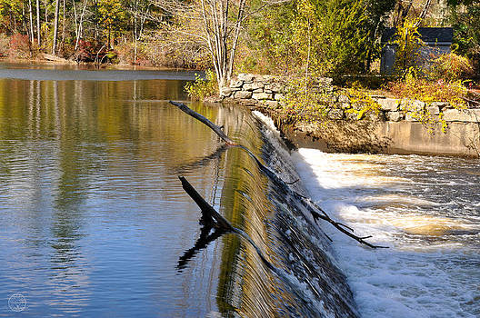 Water over the dam by Healing Woman