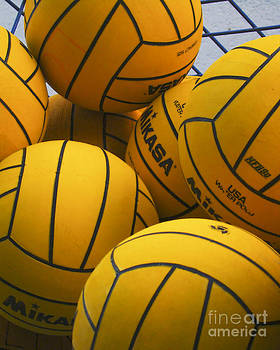 Water Polo Balls by David Ricketts