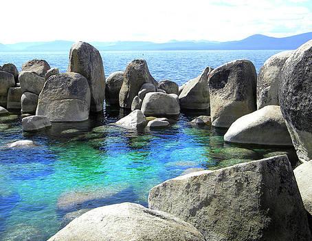 Frank Wilson - Water Stonehenge Lake Tahoe