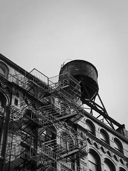 Water Tower 10 by Darren Martin