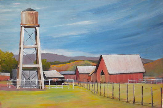 Water Tower by Paula Strother