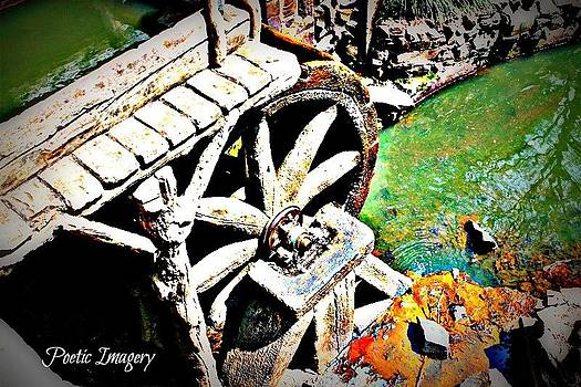 Water Wheel by Debbie Sikes