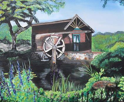 Water Wheel by Melissa Torres