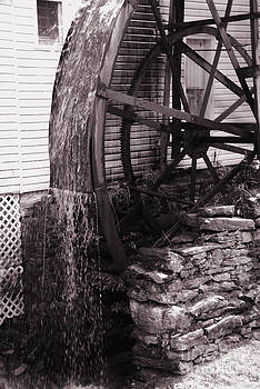 Susanne Van Hulst - Water Wheel Old Mill Cherokee North Carolina