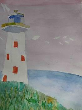 Watercolour I fourteen by AJ Brown