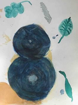 Watercolour I ten by AJ Brown