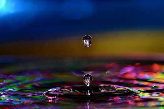 Waterdrop by Ahmed Moustafa