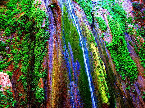 Waterfall  by Catherine Natalia  Roche