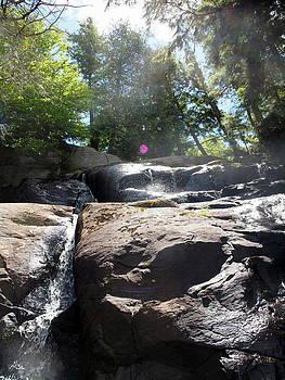 Waterfall heaven by Kristal Kobold