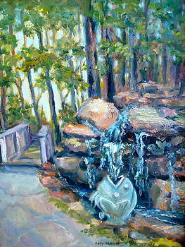 Waterfall  by Holly LaDue Ulrich