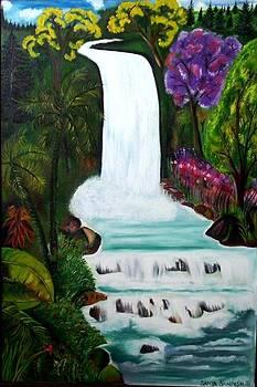 Waterfall by Nirendra Sawan