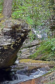 Waterfall Rock by Susan Leggett