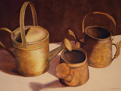 Watering Cans by Daydre Hamilton