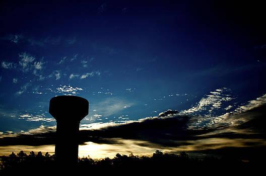 Watertowersunrise by Patrick Biestman