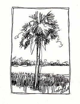 Waterway Palm by Michele Hollister - for Nancy Asbell
