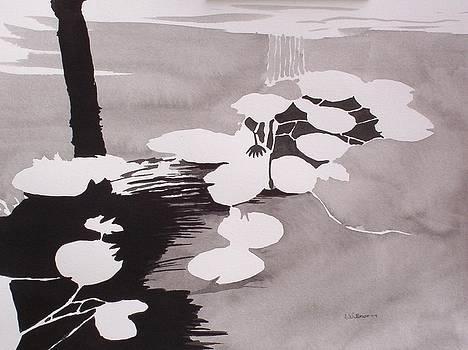 Watrer Lillies by Richard Willows