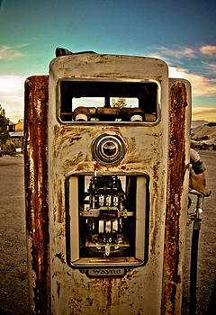 Wayne Gas Pump by Merrick Imagery