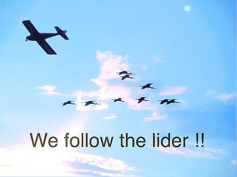 WE follow the lider by Jesus Nicolas Castanon