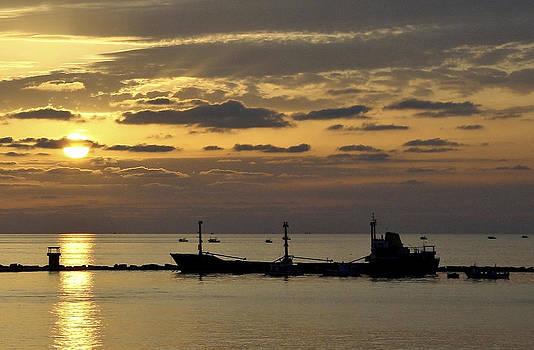 We Sail At Dawn by Brian  Minnis