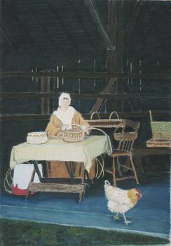 Weaver and Chicken by Dana Schmidt