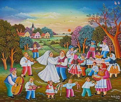 Wedding by Rozalija Markov