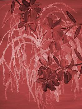 Weeping Fushia  by Mark Moore